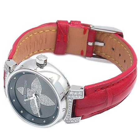 Louis Vuitton(루이비통) Q121F1 땅부르 포에버 다이아 악어 가죽 여성용 시계 [강남본점] 이미지3 - 고이비토 중고명품