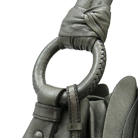 Prada(프라다) BR3993 다크 그레이 셔링 장식 토트백