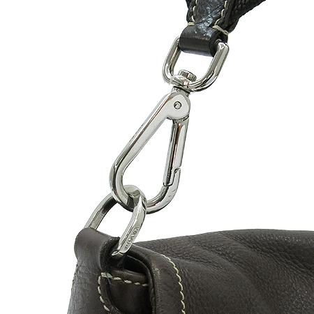 Prada(프라다) BR2417 브라운 레더 벨트 장식 숄더백