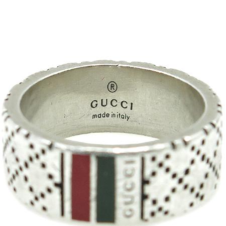 Gucci(구찌) 925(실버) 삼색 이니셜 로고 반지 -17호 이미지3 - 고이비토 중고명품