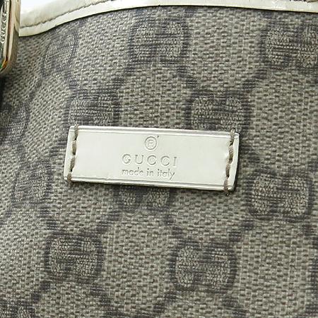 Gucci(구찌) 189896 GG로고 PVC 바겟 토트백 이미지4 - 고이비토 중고명품