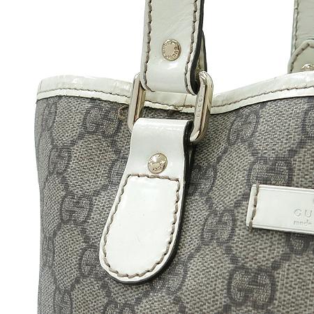 Gucci(구찌) 189896 GG로고 PVC 바겟 토트백 이미지5 - 고이비토 중고명품