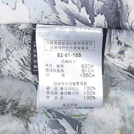 Ferragamo(페라가모) 스카이블루 컬러 누빔 점퍼 (안감 : 실크 100)