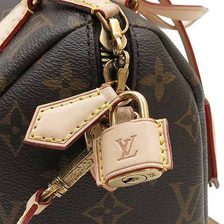 Louis Vuitton(루이비통) M40988 2013년 컬렉션 모노그램 캔버스 체인 스피디 20 토트백 + 숄더 스트랩