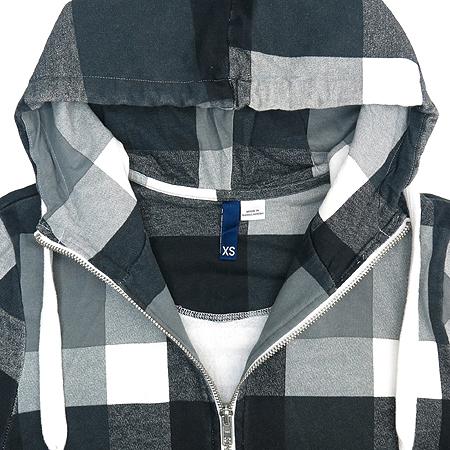 H&M(에이치엔앰) 멀티 컬러 후드 집업 가디건 이미지3 - 고이비토 중고명품