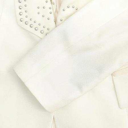 Leshop(르샵) 화이트 컬러 자켓 이미지3 - 고이비토 중고명품