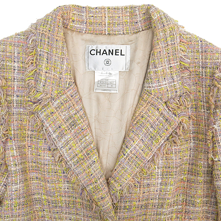 Chanel(샤넬) 04P P23159V13865 멀티 컬러 트위드 자켓
