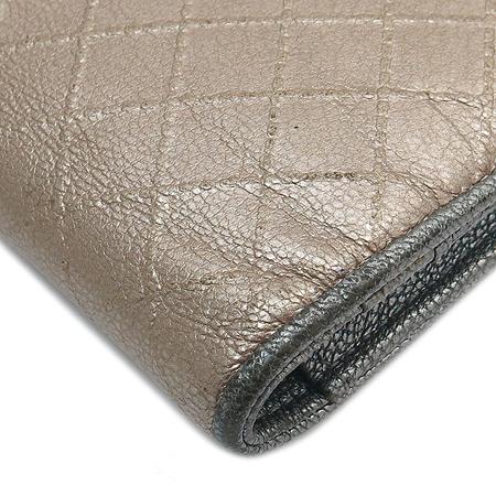 Chanel(샤넬) 캐비어스킨 은장 COCO로고 장지갑