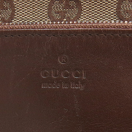 Gucci(구찌) 019 0401 GG로고 자가드 레더 포켓 토트백
