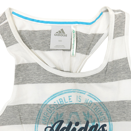 Adidas(아디다스) 스트라이프 나시