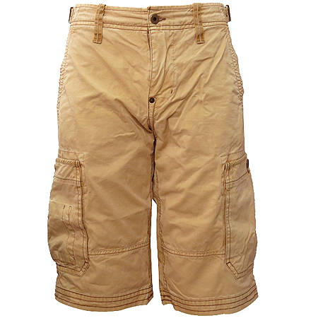 Polo Jeans(폴로 진스) 베이지컬러 카고 반바지