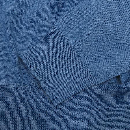 System(시스템) 네이비 블루 컬러 니트
