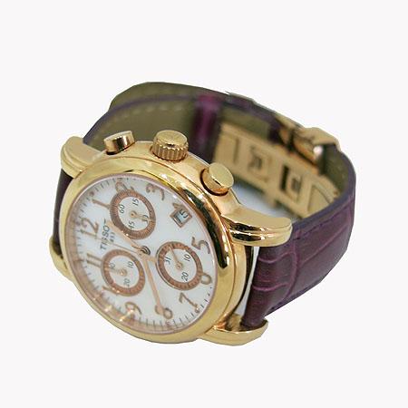 TISSOT(티쏘) T050 217 금장 원형 자개판 크로노 여성용 시계 [일산매장] 이미지2 - 고이비토 중고명품