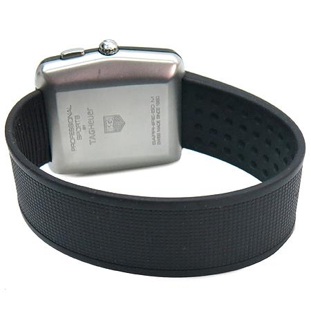 Tag Heuer(태그호이어) WAE1113 프로페셔날 스포츠 골프 러버 밴드 남성용 시계 [명동매장]