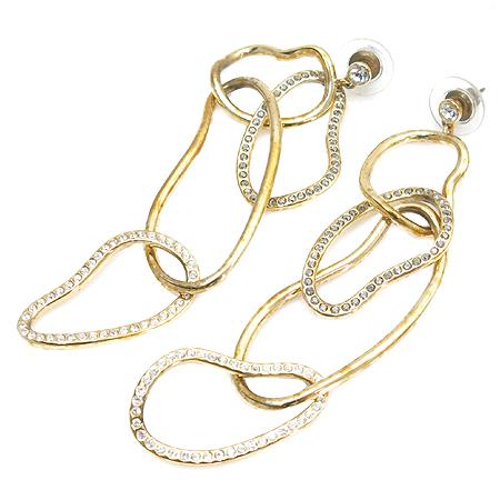 Swarovski(스와로브스키) 크리스탈 장식 귀걸이 이미지3 - 고이비토 중고명품