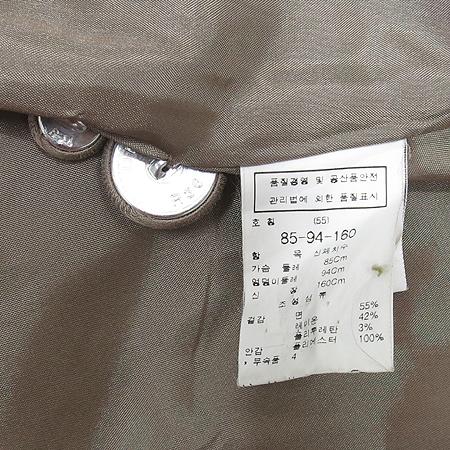 ZOOC(주크) 메탈릭 브라운컬러 자켓
