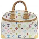 Louis Vuitton(루이비통) M92663 모노그램 멀티 컬러 화이트 트루빌 토트백 [강남본점]