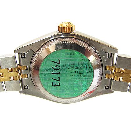 Rolex(로렉스) 79173 18K 콤비 10포인트 다이아 컴퓨터판 DATE JUST(데이트 저스트) 여성용 시계 [분당매장]