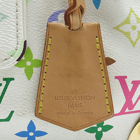 Louis Vuitton(루이비통) M92643 모노그램 멀티컬러 화이트 멀티스피디 30 토트백