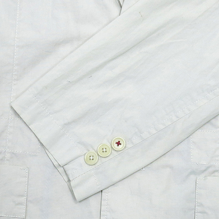Tommy(타미) 라이트 그레이 컬러 2버튼 자켓 이미지3 - 고이비토 중고명품