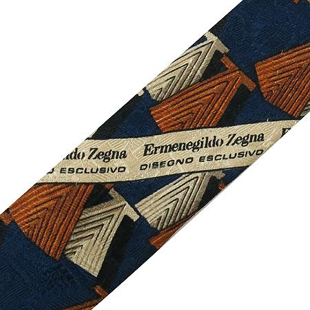 Zegna(제냐) 100% 실크 넥타이 이미지6 - 고이비토 중고명품