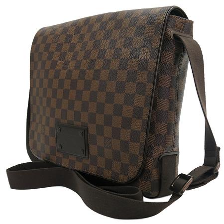 Louis Vuitton(루이비통) N51211 다미에 에벤 캔버스 브루클린 MM 크로스백 [명동매장] 이미지2 - 고이비토 중고명품