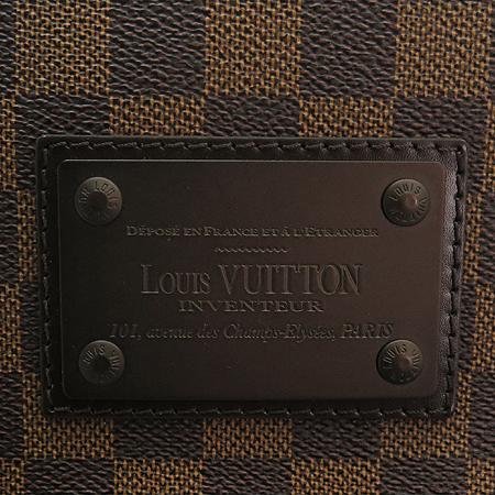 Louis Vuitton(루이비통) N51211 다미에 에벤 캔버스 브루클린 MM 크로스백 [명동매장] 이미지3 - 고이비토 중고명품