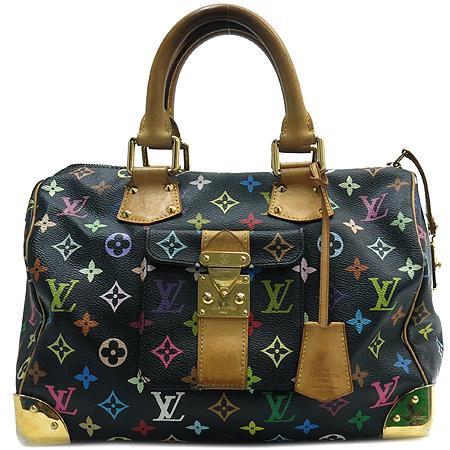 Louis Vuitton(루이비통) M92642 모노그램 멀티컬러 블랙 멀티스피디 30 토트백[인천점]