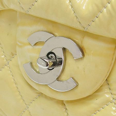 Chanel(샤넬) COCO 은장 로고 장식 페이던트 원포켓 은장 체인 숄더백