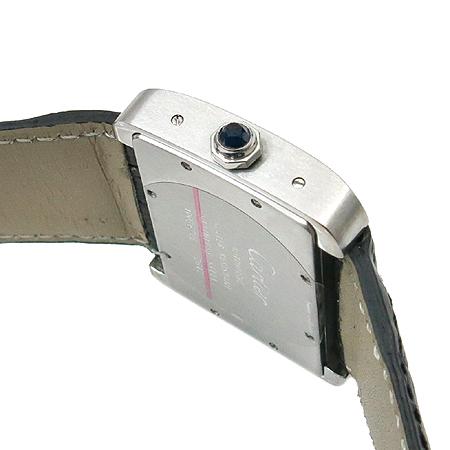 Cartier(까르띠에) W6300755 탱크 DIVAN(디반) 오토매틱 가죽밴드 남여공용 시계