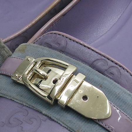 Gucci(구찌) 151088 퍼플 레더 시마 여성용 로퍼