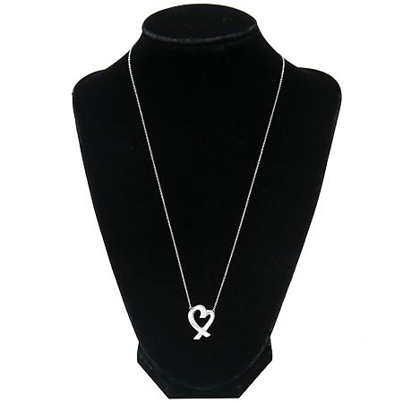 Tiffany(티파니) 925 (실버) 러빙 하트 목걸이