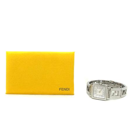 Fendi(펜디) 60500L 콰드로 자개판 쿼츠 스틸 여성용시계 [부천 현대점]