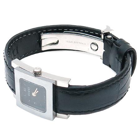 Gucci(구찌) 7900P 사각 프레임 가죽 밴드 여성 시계