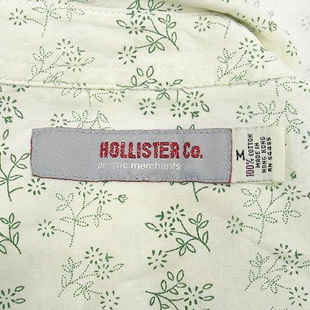 HOLLISTER(홀리스터) 화이트 컬러 플라워 패턴 남방
