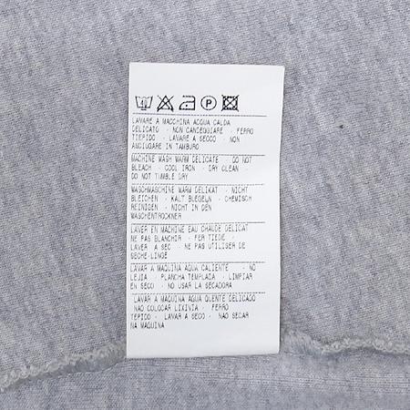 Sisley(시슬리) 그레이 컬러 비즈장식 반팔 티 이미지5 - 고이비토 중고명품