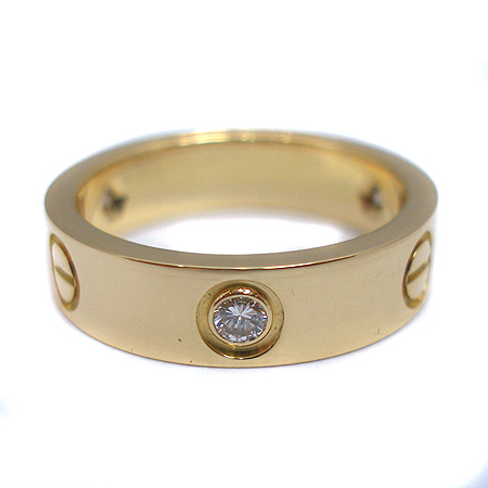 Cartier(까르띠에) 18K(750) 골드 3포인트 다이아 러브링 반지-17호 [잠실점]