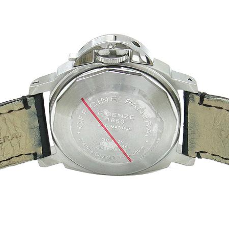 Officine Panerai(오피신 파네라이) PAM00048 (luminor marina)루미노 마리나 오토매틱 DD클립 악어 가죽 밴드 남성용 시계 [압구정매장]