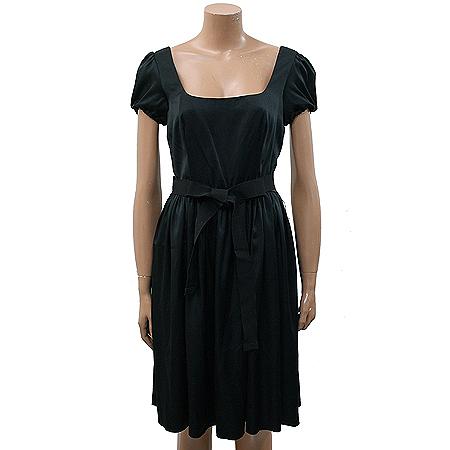 Prada(프라다) 블랙 컬러 원피스(허리끈 SET) [부산본점]