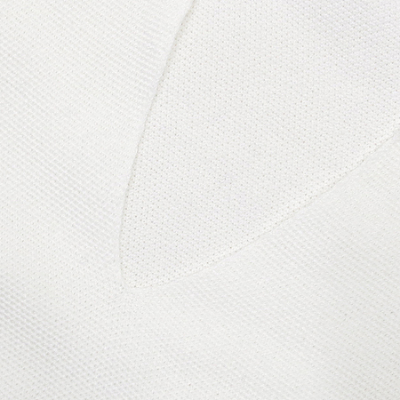 LORO PIANA(로로피아나) 화이트 컬러 반팔 카라 티