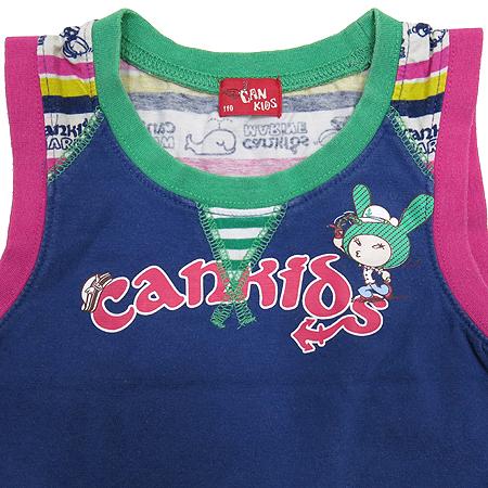 CANKIDS(캔키즈) 유아용 민소매 티