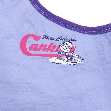 CANKIDS(캔키즈) 유아용 스카이 블루 컬러 반팔 티