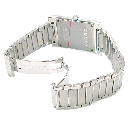 Gucci(구찌) 111M 삼선 다이얼 쿼츠 스틸 남성 시계