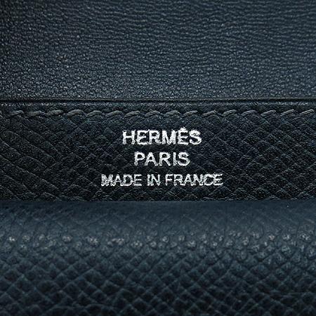Hermes(에르메스) 네이비 레더 다용도 케이스 이미지5 - 고이비토 중고명품