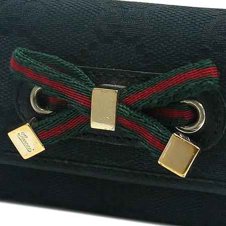 Gucci(구찌) 162770 GG로고 금장 리본 장식 6홀더 키케이스