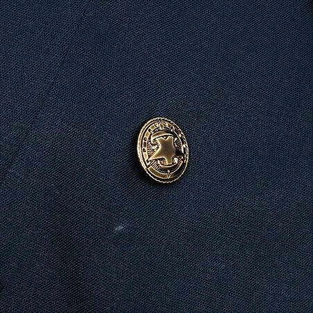 NICE CLAUP(나이스크랍) 네이비컬러 금장 버튼 자켓