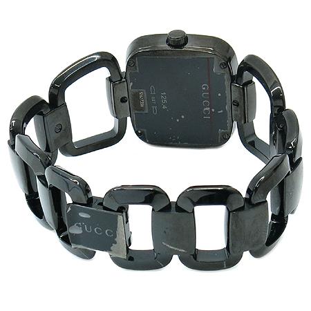 Gucci(구찌) 125.4 블랙 스틸 남성용 시계