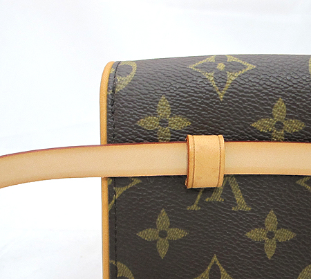 Louis Vuitton(루이비통) M51855 모노그램 캔버스 포쉐트 플로렌틴 파우치 + M67303 힙색 스트랩 [분당매장] 이미지3 - 고이비토 중고명품