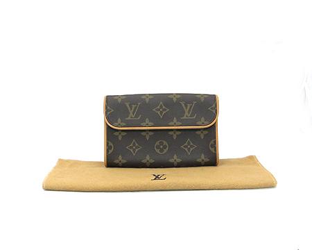 Louis Vuitton(루이비통) M51855 모노그램 캔버스 포쉐트 플로렌틴 파우치 + M67303 힙색 스트랩 [분당매장]