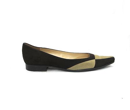 Louis Vuitton(루이비통) 브라운 스웨이드 여성용 구두